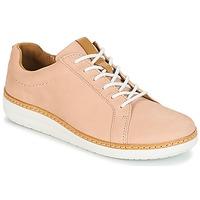 Zapatos Mujer Derbie Clarks Amberlee Rosa Nude / Nubuck