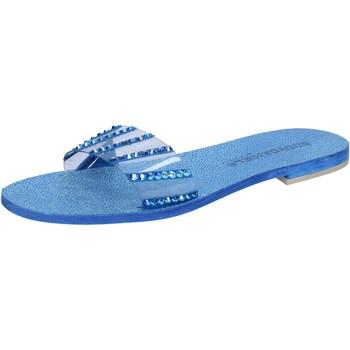Zapatos Mujer Sandalias Eddy Daniele AW491 Azul