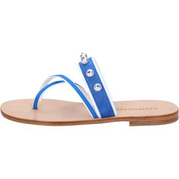 Zapatos Mujer Sandalias Eddy Daniele AW06 Azul