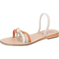 Zapatos Mujer Sandalias Eddy Daniele AW479 Blanco