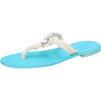 Zapatos Mujer Sandalias Eddy Daniele AW509 Blanco