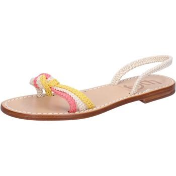 Zapatos Mujer Sandalias Eddy Daniele AV411 Blanco