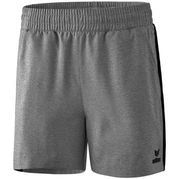 textil Mujer Shorts / Bermudas Erima Short femme  Premium One 2.0 gris chiné/noir