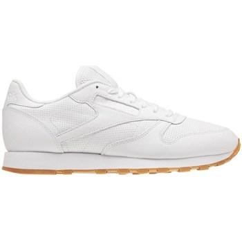 Zapatos Hombre Zapatillas bajas Reebok Sport Classic Leather PG Blanco