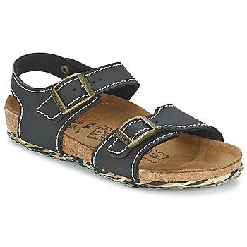 Zapatos Niña Sandalias Birki's NEW YORK Neopreno / Negro