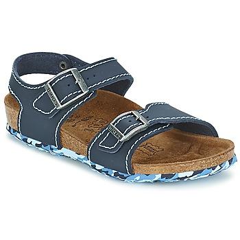 Zapatos Niña Sandalias Birki's NEW YORK Neopreno / Azul