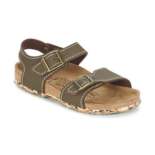 Zapatos Niña Sandalias Birki's NEW YORK Neopreno / Brown