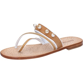 Zapatos Mujer Sandalias Eddy Daniele AX774 Marrón