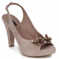 Zapatos Mujer Sandalias Vic CALIPSO DRAL Beige