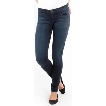 textil Mujer Vaqueros slim Wrangler Jeans   Courtney blue shelter W23SU466N azul