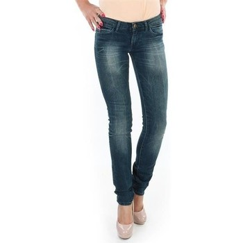 textil Mujer Vaqueros slim Wrangler Spodnie  Molly 251XB23C azul