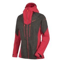 textil Mujer Cortaviento Salewa Kurtka  Sesvenna WO/DST JKT 25230-0911 rojo