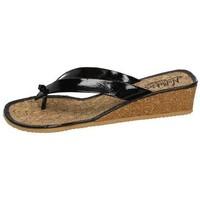 Zapatos Mujer Sandalias Nellakis Chanclas de verano Negro