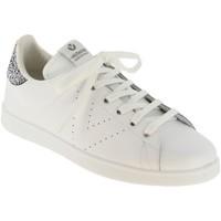 Zapatos Mujer Zapatillas bajas Victoria 125104 Cuero blanco