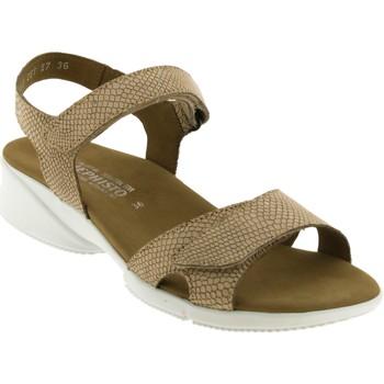 Zapatos Mujer Sandalias Mephisto Francesca Camello nobuck