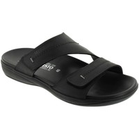 Zapatos Hombre Zuecos (Mules) Mephisto STAN Cuero negro