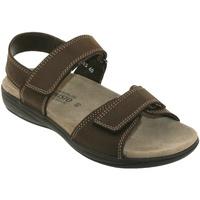Zapatos Hombre Sandalias Mephisto SIMON Cuero marrón