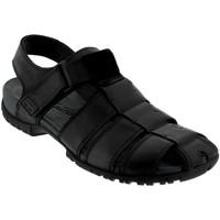 Zapatos Hombre Sandalias Mephisto BASILE Cuero negro