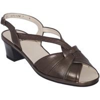 Zapatos Mujer Sandalias Marco ESTELLE Cuero bronce