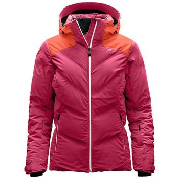 textil Mujer plumas Kjus Kurtka  Ladies Snow Down LS15-709 30518 rosado