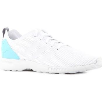 Zapatos Mujer Zapatillas bajas adidas Originals Adidas ZX Flux Adv Smooth S78965 blanco