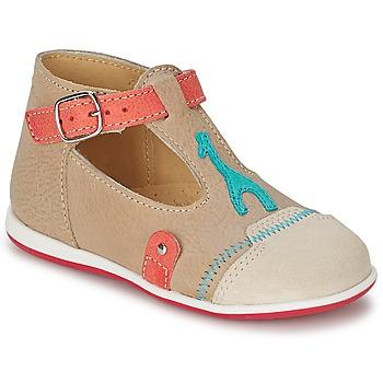 Zapatos Niños Sandalias Citrouille et Compagnie GALENE Beige / Topotea