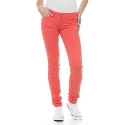 textil Mujer Vaqueros slim Wrangler Jeans  Molly Melon W251U229M rojo