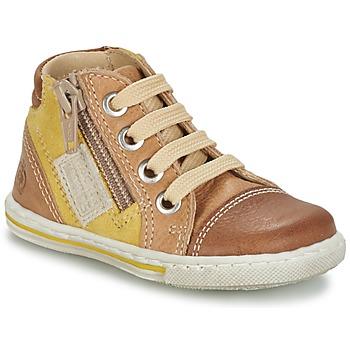 Zapatos Niños Zapatillas altas Citrouille et Compagnie MIXINE Marrón