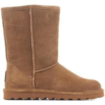 Zapatos Mujer Botas de nieve Bearpaw Elle Short 1962W-220 Hickory II marrón