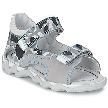 Zapatos Niño Sandalias Citrouille et Compagnie MISQUINE Blanco / Militaire