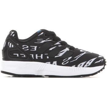 Zapatos Niños Zapatillas bajas adidas Originals Adidas ZX Flux EL I BB2434 negro