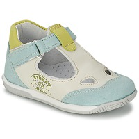 Zapatos Niño Sandalias Citrouille et Compagnie XOULOU Blanco / Azul / Verde