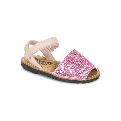 Zapatos Niña Sandalias Citrouille et Compagnie SQUOUBEL Fucsia