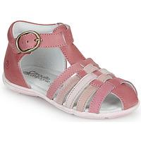 Zapatos Niña Sandalias Citrouille et Compagnie VISOTU Rosa / Multicolor