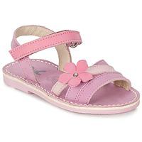 Zapatos Niña Sandalias Citrouille et Compagnie VIZIEL Violeta / Rosa