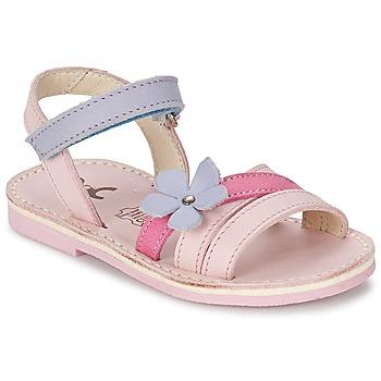 Zapatos Niña Sandalias Citrouille et Compagnie ERTUNA Multicolor