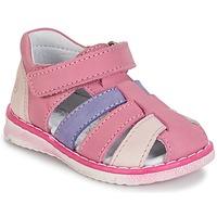 Zapatos Niña Sandalias Citrouille et Compagnie FRINOUI Lilas / Rosa / Fucsia