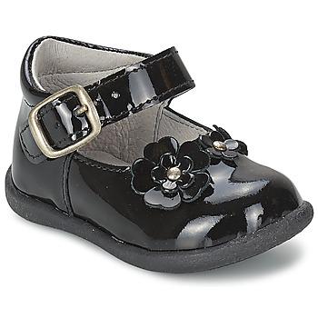 Zapatos Niña Bailarinas-manoletinas Citrouille et Compagnie ASKO Negro