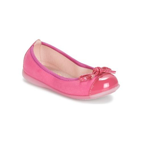 Zapatos Niña Bailarinas-manoletinas Citrouille et Compagnie MIXOUBET Fucsia