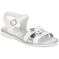 Zapatos Niña Sandalias Citrouille et Compagnie KATAGUE Blanco