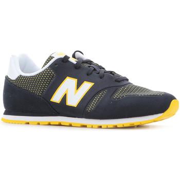 Zapatos Mujer Zapatillas bajas New Balance KD373NRY negro, blanco, amarillo