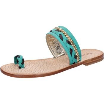Zapatos Mujer Sandalias Eddy Daniele AX720 Verde