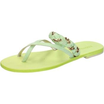 Zapatos Mujer Sandalias Eddy Daniele AW169 Verde