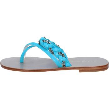 Zapatos Mujer Sandalias Eddy Daniele AW193 Azul claro