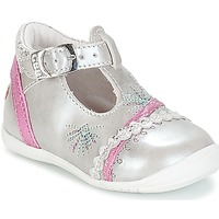 Zapatos Niña Bailarinas-manoletinas GBB MARINA Vte / Plata - fucsia / Dpf / Kezia