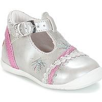 Zapatos Niña Bailarinas-manoletinas GBB MARINA Vte / Plata - fucsia / Dpf / Kezia
