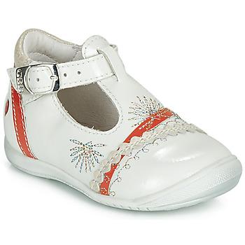 Zapatos Niña Bailarinas-manoletinas GBB MARINA Vvn / Coral / Dpf / Kezia