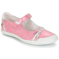 Zapatos Niña Bailarinas-manoletinas GBB MARION Vte / Rosa-blanco / Dpf / Zara