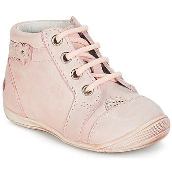 Zapatos Niña Botas de caña baja GBB PRIMROSE Vte / Rosa / Carne / Dpf / Kezia