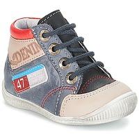 Zapatos Niño Botas de caña baja GBB PANCRACE Vte / Gris-jeans / Dpf / Raiza